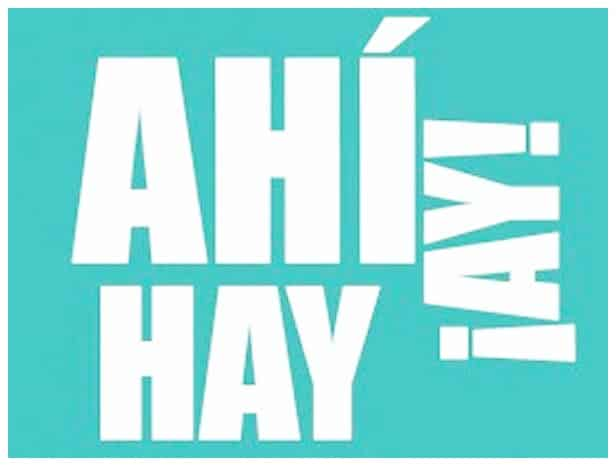 difference between ahí ay and hay