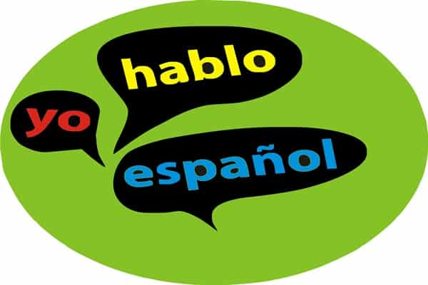logo with spanish words